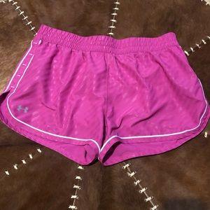 Pink UA shorts G19